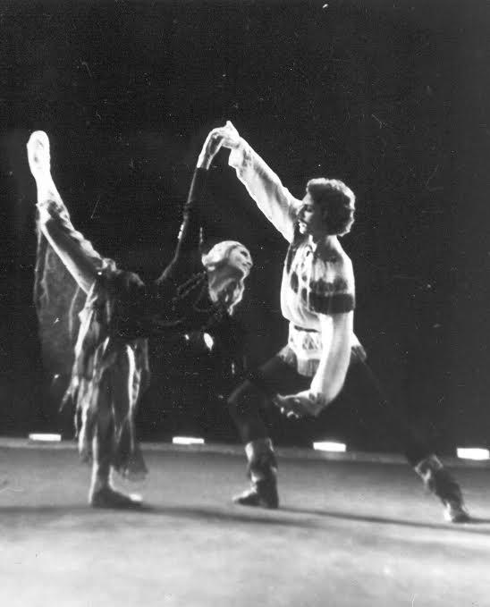 """""""Сампо"""". 1987 год. Наталья Гальцина - Лоухи; Лемминкяйнен - Олег Щукарев"""