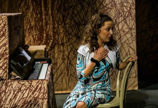 "Валерия Ломакина в спектакле ""Про мою маму и про меня"""