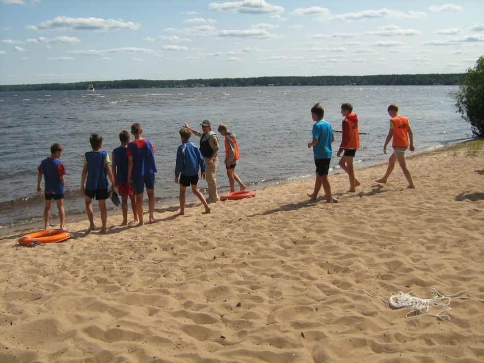 Работа ГИМС в летних лагерях