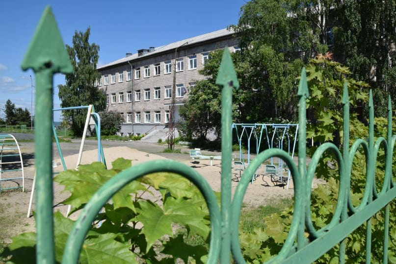 Школа_интернат №22 находилась в самом центре Петрозаводска...
