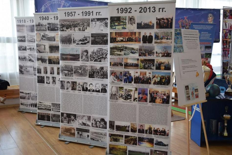 Выставка в фойе Дворца творчества, посвященная дополнительному образованию Петрозаводска