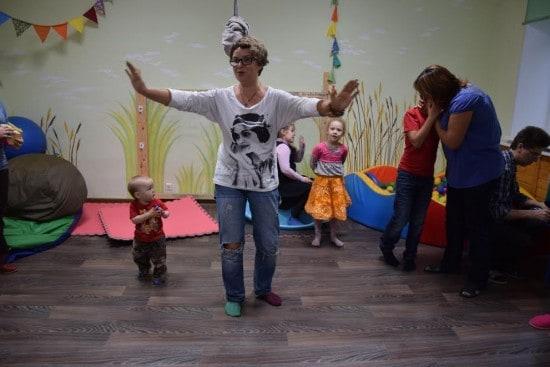 Анна Антонова провела открытое занятие