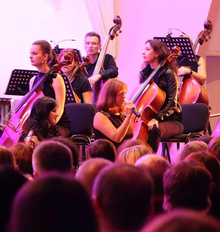 Симфонический оркестр Карельской филармонии. Фото Марины Трубиной