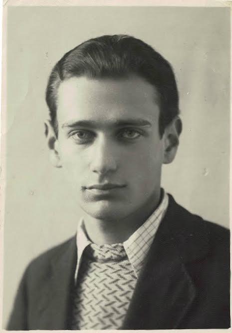 Ефрем Рыбак в молодости