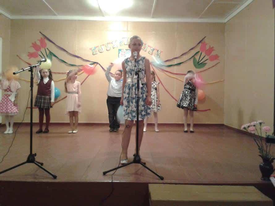 Выступление савиновских школьников