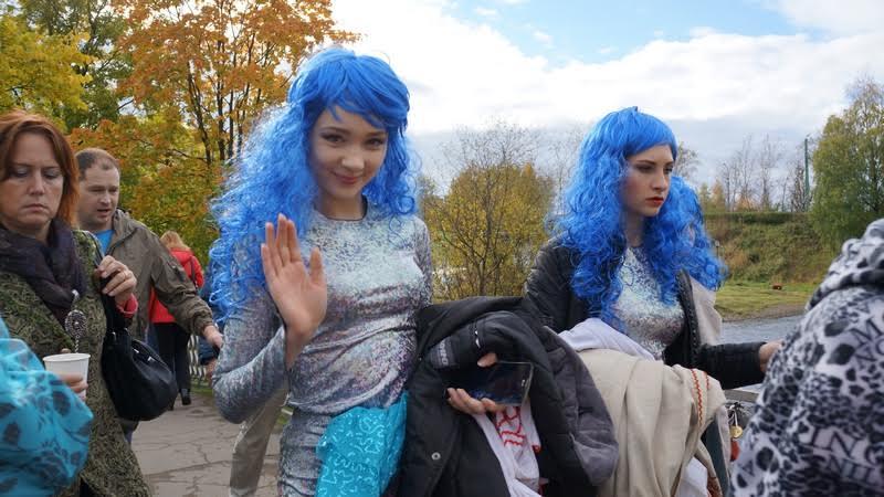 Международный рыбный фестиваль «Калакунда» прошел 24 сентября в Петрозаводске. Фото Ирины Ларионовой