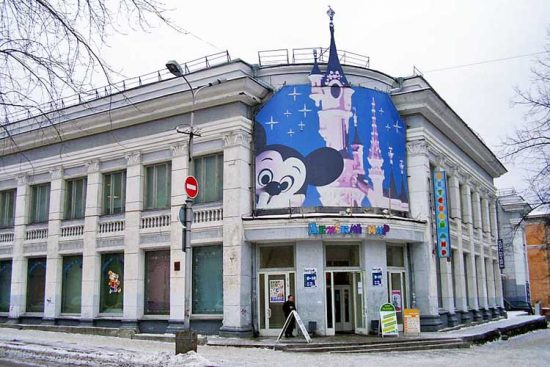 Здание в Петрозаводске, где разместится Дом книги. Фото с сайта photo.qip.ru