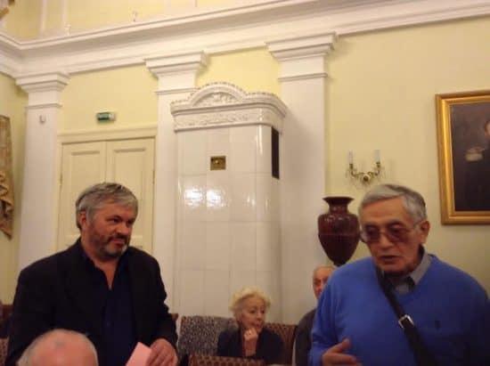 Андрей Дежонов (слева) и Григорий Фукс