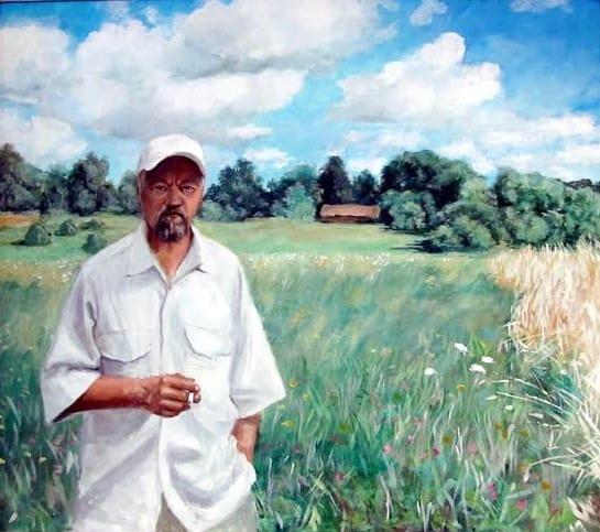 Владимир Шкарубо. Автопортрет