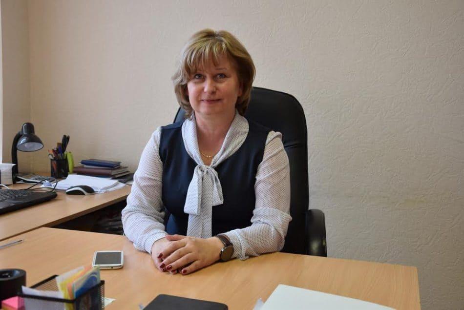 Директор школы Светлана Макаренко