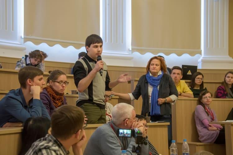 На Съезде градозащитников. Фото: www.archnadzor.ru