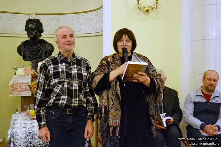 С.В. Груздев приехал из Петербурга. Его стихи тронули зрителей до глубины души
