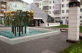 """Так мог бы смотреться фонтан """"Юность"""", если бы его вернули на законное место. Реконструкция Виталия Наконечного"""
